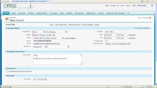 Download How to schedule a meeting (Event) using Salesforce Video