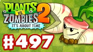 Download Plants vs. Zombies 2: It's About Time - Gameplay Walkthrough Part 497 - Parsnip! (iOS) Video