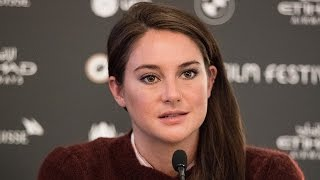 Download Shailene Woodley Gets Choked Up While Discussing Thanksgiving at Dakota Access Pipeline Protest Video