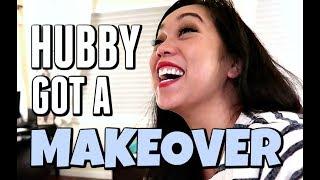 Download MY HUSBAND GOT A MAKEOVER!!! - Dancember 08, 2017 - ItsJudysLife Vlogs Video