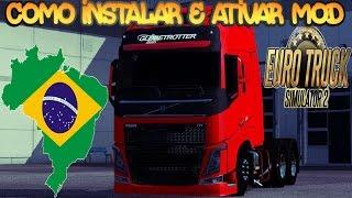 Download Como Instalar e Ativar Mod - EURO TRUCK SIMULATOR 2 Video