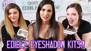 Download We Tried Edible Eyeshadow Kits (feat. Simply Nailogical & ThreadBanger) Video