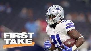 Download Stephen A. Smith reacts to NFL upholding Ezekiel Elliott's 6 game suspension | First Take | ESPN Video
