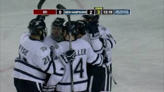 Download UNH Men's Hockey vs RPI Highlights (11-22-16) Video