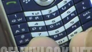 Download How to Unlock Blackberry 8100 Pearl-CellUnlock Video