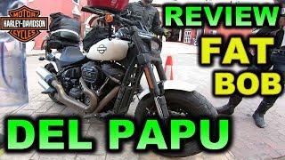 Download REVIEW DE LA MOTO DE PAPU HARLEY FAT BOB - BLITZ RIDER Video