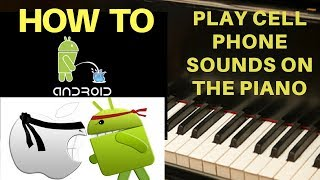 Download How To Play Classic Cell Phone Sounds on the Piano Video