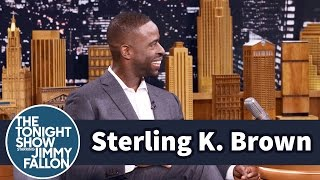 Download Sterling K. Brown's Scene Was Cut from Jimmy's Movie Taxi Video