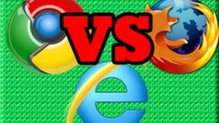 Download Internet Explorer 9 VS FireFox 4 VS Chrome 7 Video