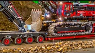 Download RC Truck Excavator transport! Stunning R/C ACTION! Video