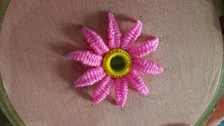 Download Hand Embroidery beautiful mirror flower designs and picot stitch work Video
