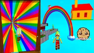 Download House on a Rainbow ! St. Patrick's Day Roblox Obby Game Play Video Video