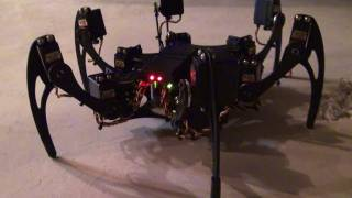 Download FREAKY Robot! Phoenix Hexapod - Up Close, Questions & Answers Video
