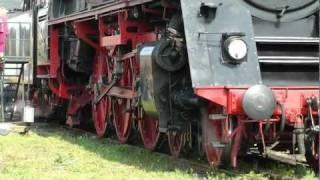 Download Dampflok 0105098 Ausfahrt imposant BBW Arnstadt Video