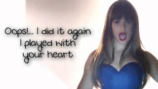 Download Glee - Oops!... I Did It Again (Lyrics) Video