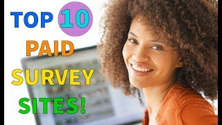 Download Top 10 Paid Online Survey Sites That Pay You Cash! (REAL MONEY!) Video