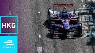 Download Sam Bird Sets Flight At The 2017 HKT Hong Kong E-Prix! | Formula E Video