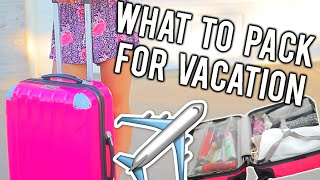 Download What To Pack For Vacation + Tips and Tricks! | Breezylynn08 Video
