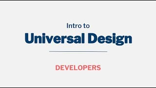 Download Intro to Universal Design Video