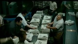 Download The Post- Newspaper Printing Press Scene Video
