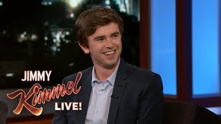 Download Freddie Highmore on Bates Motel, The Good Doctor & Living in Spain Video