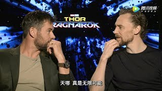 Download Chris Hemsworth and Tom Hiddleston Play 'Would You Rather' | Thor: Ragnarok Video