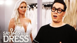 Download Gok Wan Helps out a Picky Bride Who Has Tried on 40 Dresses!   Say Yes To The Dress UK Video