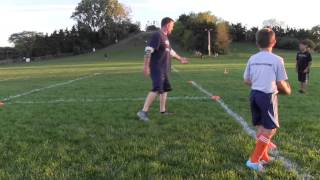 Download Youth Football - Learning How to Tackle Video