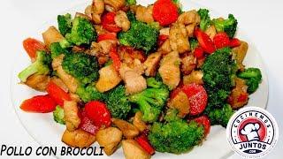 Download Pollo en miel con brocoli y zanahorias. - Sabrosa Comida China Video