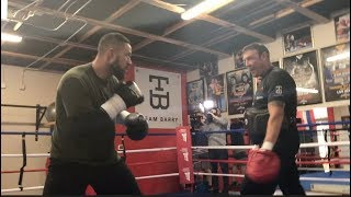 Download EXPLOSIVE! JOSEPH PARKER (IN CAMP SPECIAL) PAD WORK AHEAD OF UNIFICATION CLASH W/ ANTHONY JOSHUA Video