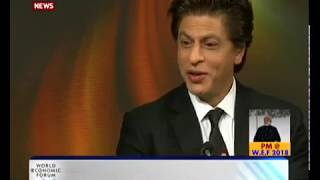 Download Many reasons why India's stock rising in the eyes of global community: Shahrukh Khan at WEF, Davos Video