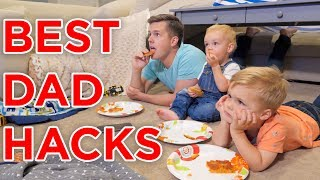 Download ULTIMATE DAD HACKS WHILE MOM IS AWAY!! Video