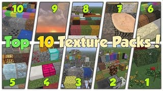 Download TOP 10 MOST DOWNLOADED MINECRAFT TEXTURE PACKS Video