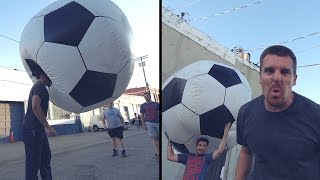 Download Giant Soccer Ball (football) Video