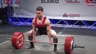 Download Taylor Atwood - 758kg 1st Place 74kg - IPF World Classic Powerlifting Championships 2018 Video