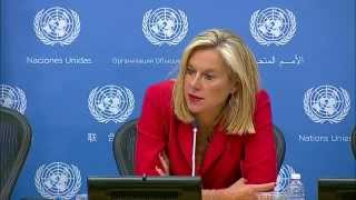 Download Sigrid Kaag (Joint OPCW-UN Mission) on Syria - Press Conference (4 September 2014) Video