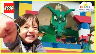Download LEGOLAND HOTEL TOUR! Amusement Park Family Fun Lego Toys for Kids play Area Children Activities Video