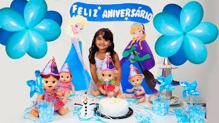 Download Festa PARTY para Baby Alive Clarabela com BIA LOBO Video