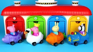 Download Peppa Pig Mini Buggies Garage Surprise Toys Peppa Pig Mashems Chupa Chups Surprise Eggs for Kids Video