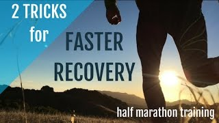 Download Half Marathon Training for Beginners | 2 Tricks for Faster Recovery! Video