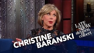 Download Christine Baranski's Easiest Role Ever? Acting Displeased With Trump. Video