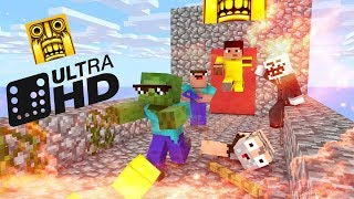 Download Monster School : Temple Run -Minecraft Animation Video