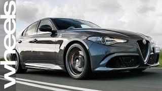 Download 2018 Car of the Year Finalist: Alfa Romeo Giulia | Wheels Australia Video