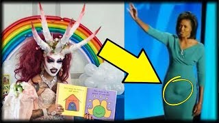 Download AS THIS DRAG QUEEN READ TO KIDS, EVERYONE SAW THE SHOCKING CONNECTION IT HAD WITH MICHELLE OBAMA Video