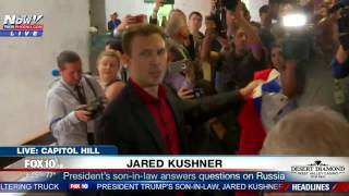 Download WATCH: Jared Kushner Leaving Capitol Hill After Being Questioned About Russian Probe (FNN) Video
