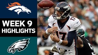 Download Broncos vs. Eagles | NFL Week 9 Game Highlights Video