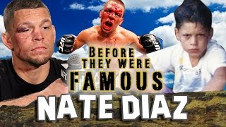 Download NATE DIAZ | Before They Were Famous | UFC Video