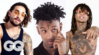 Download Rae Sremmurd, 21 Savage and More Break Down Their Tattoos | Best of Tattoo Tour | GQ Video
