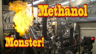 Download Blown Methanol Monster lays waste to Dyno room! LOL! Nelson Racing Engines. Alcohol Rail.. Video