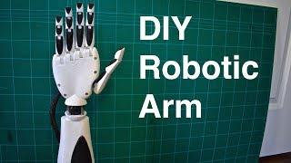 Download DIY Robotic Arm 3D Printed (an Initial Prosthetic Prototype) Video